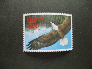 外国速達用ー白頭鷲・五輪マーク付き 1種完 未使用 1991年 アメリカ合衆国・米国 VF・NH