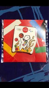 コカ・コーラ 東京オリンピック ピンバッジ 未開封 オリジナルピンズ バスケ