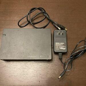 I-O DATA 外付けHDD HDC-AE2.0K 外付けハードディスク 2TB 動作品