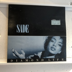LP Sade Diamond Life EUオリジ ICR