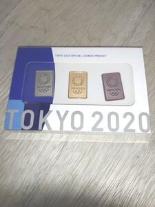 ピンバッジセット 東京2020オリンピックエンブレム