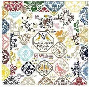 クロスステッチキット フォレストパッチワーク 18CT モチーフ 刺繍