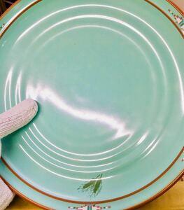 未使用ノリタケ ボルダーリッジ26cmプレート皿5枚セット※未使用品、出荷時の梱包状態にて保管