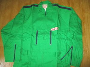 ヤンマー サイズLL ビンテージ メンテナンスメカニック作業ツナギジャンプスーツ 未使用 ジョンディア農協トラクターコンバイン農業