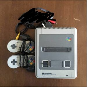 スーパーファミコン本体ジャンク品 コントローラー2つ