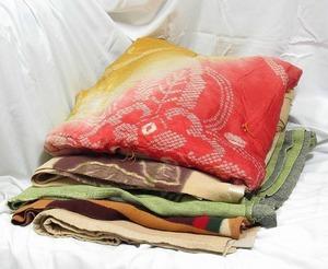 中古毛布5枚セット◆あて布 養生 引っ越し ペット等に◆梱包 緩衝材 クッション