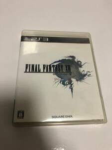 即決送料無料 PS3 ファイナルファンタジーXIII 13 FINAL FANTASY