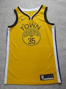 良品 SWINGMAN ケビン・デュラント DURANT #35 NBA ウォリアーズ NIKE ナイキ製 ユニフォーム バスケ シャツ スウィングマン
