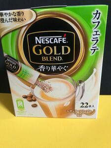 ネスカフェ GOLD blend 香り華やぐカフェラテ22本×4箱