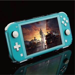 For Nintendo Switch Lite 対応 ケース 透明 クリア