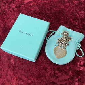 SV925 銀無垢 Tiffany ティファニー リターントゥ ブレスレット