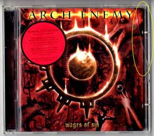 Used CD 輸入盤 2枚組特別限定盤 アーチ・エネミー ARCH ENEMY『ウェイジズ・オブ・シン』- Wages Of Sin (2002年)。Supreme 2-CD Edition