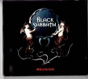 Used CD 輸入盤 ブラック・サバス Black Sabbath『リユニオン』 - Reunion (1998年)2枚組。デジパック。