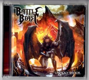 Used CD 輸入盤 バトル・ビースト BATTLE BEAST『アンホーリー・セイヴィアー』Unholy Savior(2015年)全12曲(ボーナストラック1曲含む)