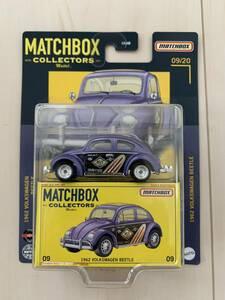 新品!MATCHBOX COLLECTORS ミニカー 1962 VOLKSWAGEN BEETLE マッチボックス フォルクスワーゲン ビートル