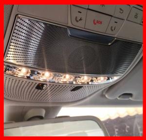 読書灯 ライト カバー トリム 装飾 ストリップ インテリア ルーフランプ フレーム メルセデスベンツ Cクラス W205 GLC 高品質