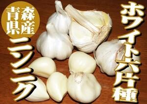 ホワイト6片種【青森県産 にんにく(ニンニク) Sサイズ球 5kg(5キロ)】