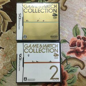 【ニンテンドーDSソフト】GAME&WATCH COLLECTION1&2◆新品未開封◆ゲーム&ウォッチ