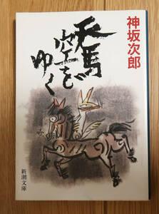 天馬空をゆく 神坂次郎 新潮文庫 文庫本 歴史小説 時代小説