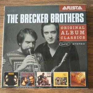 The Brecker Brothers 5CD Original Album Classics 5枚組