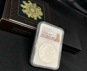 產品詳細資料,日本Yahoo代標 日本代購 日本批發-ibuy99 【1円スタート】2021 イギリス クイーンズビースト コンプリート2ozプルーフ銀貨 PF69U…