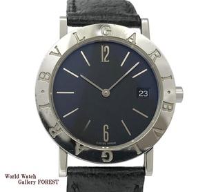 【ブルガリ(BVLGARI)☆BB33SLD】 ブルガリブルガリ 黒 クオーツ 中古 メンズ腕時計