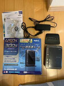 NEC 無線ルーター PA-WR9500N-HP