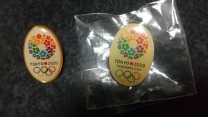 東京オリンピック 招致ピンバッジ