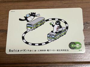 Suica Kitaca 相互利用記念 Suica