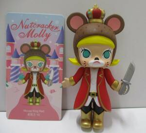 ☆S2 POP MART MOLLY nutcracker くるみ割り人形 シリーズ Mouse King Red モリー フィギュア ねずみの王様