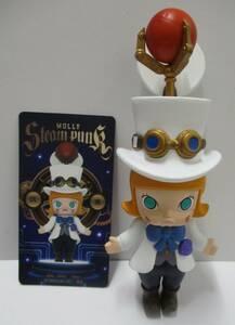 ☆S8 POP MART MOLLY steampunk スチーム パンク シリーズ Molly White 白 モリー フィギュア