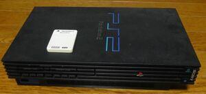 PS2 本体 メモリカード ソフト(FF ドラクエ グランツーリスモ等 6本)