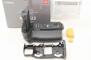 ☆美品☆ キヤノン バッテリーグリップ Canon Battery Grip BG-E22 元箱 付属品 ♯21080308