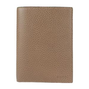 新品未使用展示品 GUCCI グッチ 346079 二つ折り財布 レザー ブラウン系 パスケース カードケース 札入れ【本物保証】