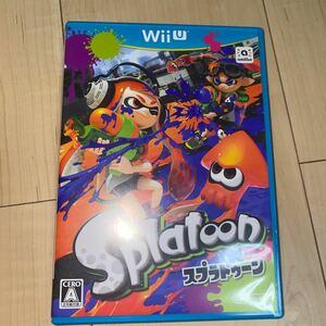 スプラトゥーン Splatoon WiiU WiiUソフト 任天堂 ソフト