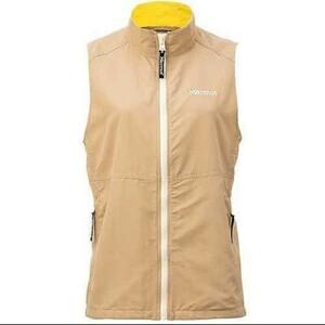 【定価12980円 Marmot】(M 薄茶) Valley Wind Vest