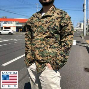 USA製/実物/米軍/USMC/マーパット/迷彩/ウッドランド/デジカモ/ジャケット【S-R】PROPPER/ミリタリー/アメリカ製/D134-17-0009Z