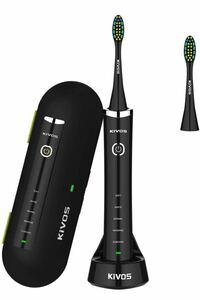 電動歯ブラシ音波歯ブラシ 電動歯ぶらし歯ブラシ収納ケース歯みがき IPX7防水 旅行出張に最適 ワイヤレス充電