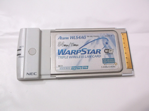 NEC 無線LAN PCカード Aterm WL54AG PA-WL/54AG