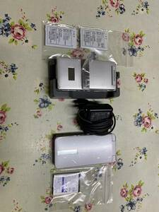 超美品レア SoftBank 004SH +911SH ガラケー バッテリー複数付属 送料無料