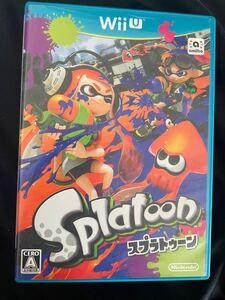 スプラトゥーン WiiU Splatoon ソフト WiiUソフト ニンテンドー 任天堂