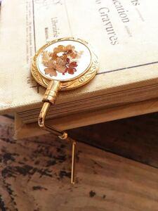 アンティーク 上品 テーブル ハンガーフック ヴィンテージ 小物 アクセサリー 手提げ掛け バッグ掛け 傘掛け vintage accessory G