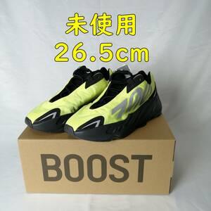【未使用】adidas カニエ ウェスト Yeezy Boost 700 MNVN Phosphor 26.5cm FY3727