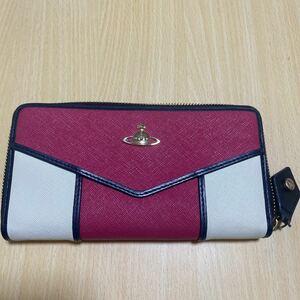 Vivienne Westwood 55VV317 長財布 ピンク