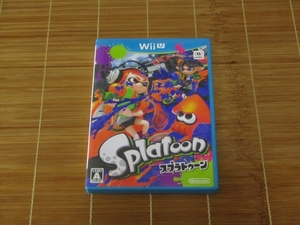 WiiUソフト スプラトゥーン