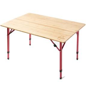 未使用新品CHUMS チャムス バンブーテーブル 高さ調整可能♪キャンプグランピングスノピユニフレーム