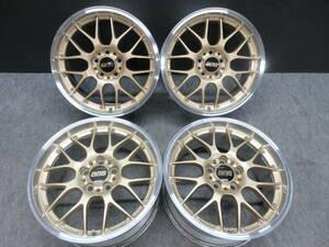 BBS RS-GT (DBK) 18インチ トヨタ クラウンアスリート レクサス IS GS マジェスタ マークⅡ三菱 CX-5 RX-7 GTO アウトランダー