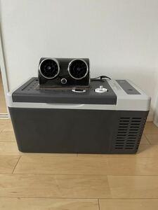 LOSRECAL RMG18 車載用冷蔵庫 ポータブル冷蔵庫 AC/DC 家庭用・車載用冷蔵庫冷温庫 現状品