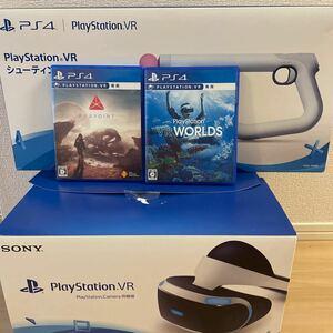 【美品】PlayStation VR PlayStation Camera同梱版 CUHJ-16001