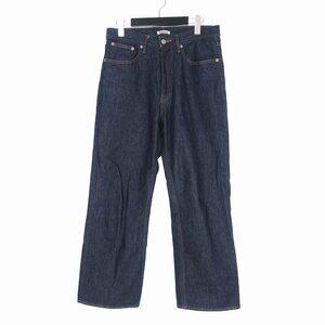 オーラリー AURALEE 20SS HARD TWIST DENIM 5P PANTS ハード トイスト デニム パンツ ジーンズ 30 インディゴ A00P01DM メンズ
